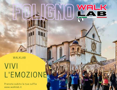 20 Novembre 2021 WALKLAB® a Foligno (PG) !