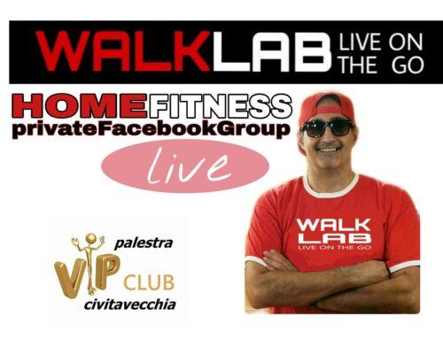 WALKLAB fitness a CASA TUA!